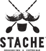 Image of Stache Drinking Den + Coffee Bar Logo