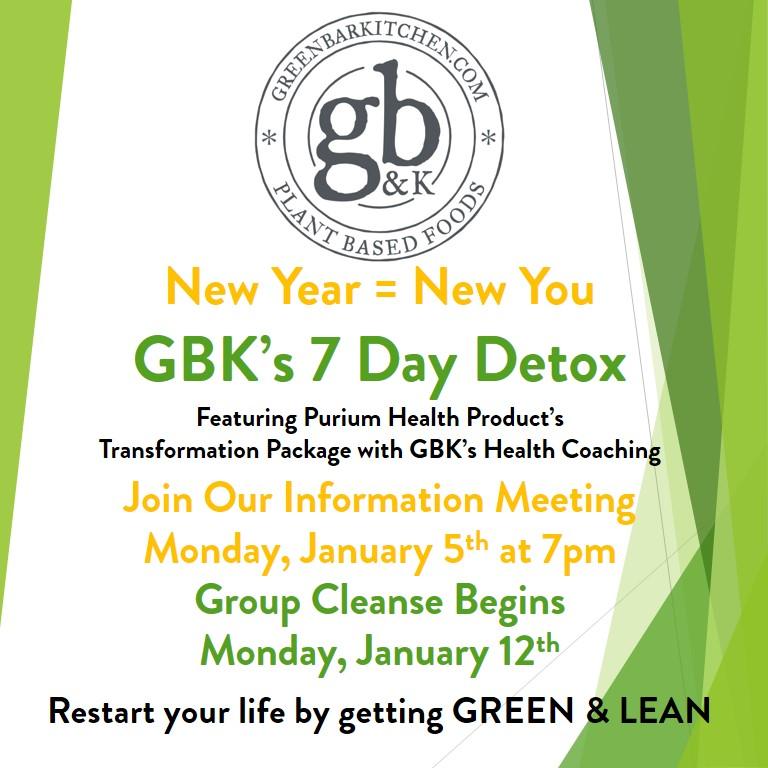 GBKs 7 Day Detox