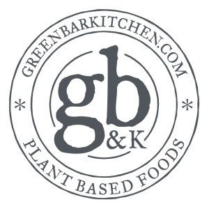 Image of the logo for Green Bar & Kitchen, a vegan restaurant serving vegetarian food in Fort Lauderdale